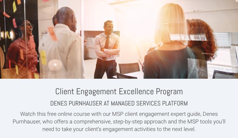 Client Engagement Excellence Program
