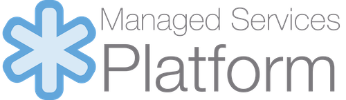 Mananged Services Platform white logo