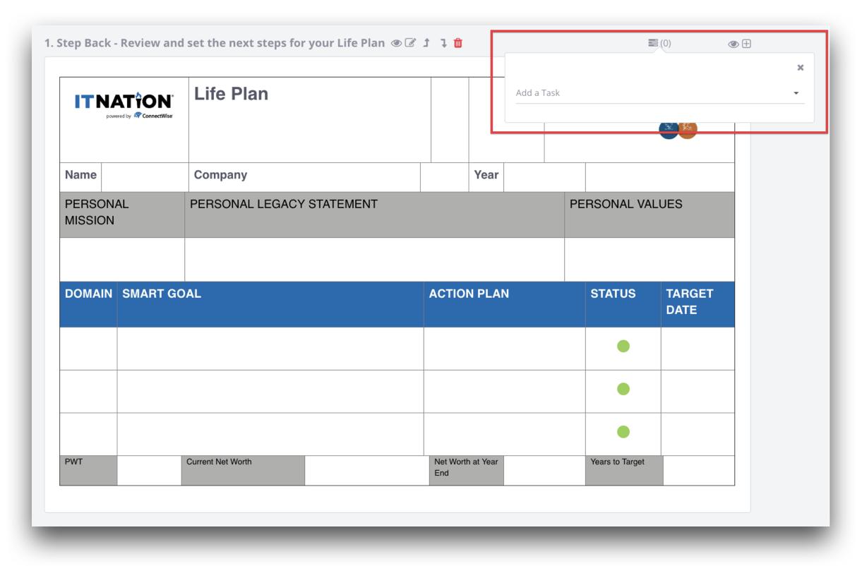 IT Nation Evolve - Life Plan